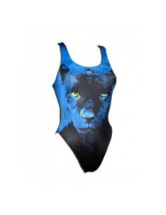Woman Swimsuit DS PANTHER- Excellent chlorine resistance, wide strap.