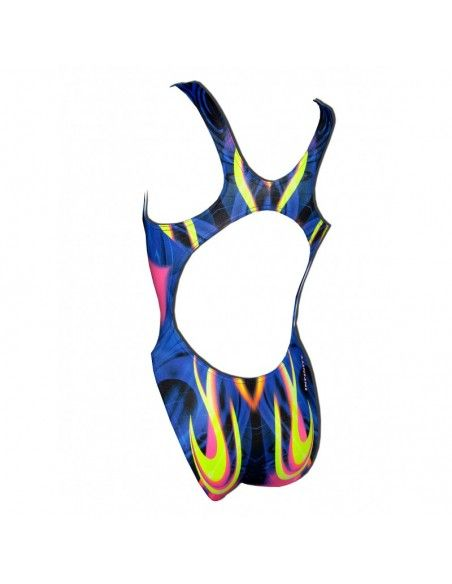 Woman Swimsuit DS NEVER - Excellent chlorine resistance, wide strap.