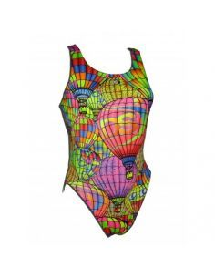 Woman Swimsuit DS GLOBUS - Excellent chlorine resistance, wide strap.