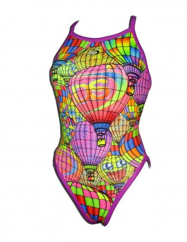 Woman Swimsuit DS GLOBUS - Excellent chlorine resistance, thin strap.