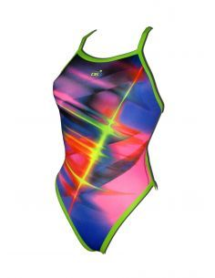 Woman Swimsuit DS FLASH- Excellent chlorine resistance, thin strap.