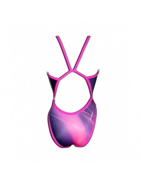 Woman Swimsuit DS ULTRAVIOLET Excellent chlorine resistance, thin strap.