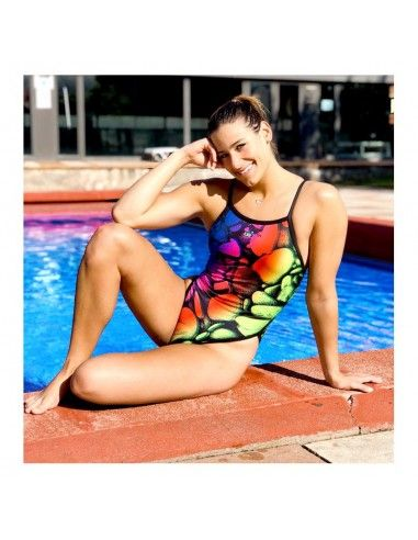 DS STONES WOMAN SWIMSUIT THIN STRAP