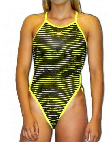 DS STARS WOMAN SWIMSUIT THIN STRAP