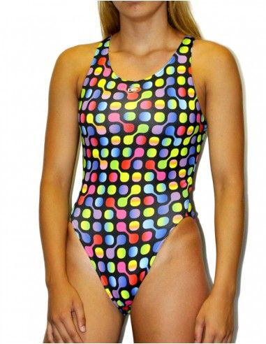 DS SPINNER WOMAN SWIMSUIT WIDE STRAP