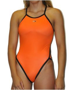 thin strap DS FLUOR NARANJA swimsuit
