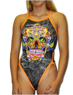 SKULL WOMAN SWIMSUIT
