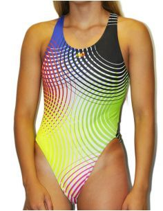 Woman Swimsuit DS SONAR- Excellent chlorine resistance, wide strap.