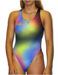 Woman Swimsuit DS POINT- Excellent chlorine resistance, wide strap.