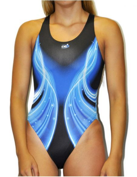Woman Swimsuit DS LASER- Excellent chlorine resistance, wide strap.