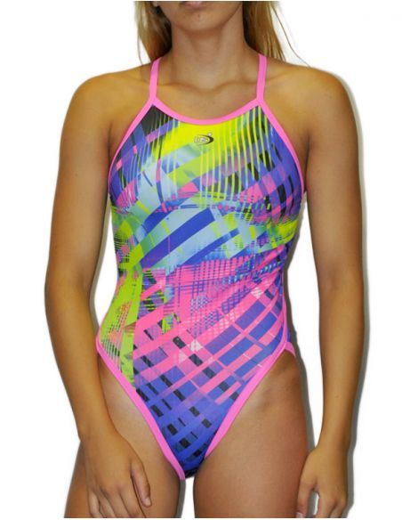 Woman Swimsuit DS OTTO - Excellent chlorine resistance, thin strap.