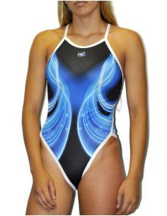 Woman Swimsuit DS LASER - Excellent chlorine resistance, thin strap.
