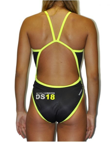 Woman Swimsuit DS18 - Excellent chlorine resistance, thin strap.