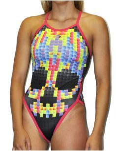 PIXEL WOMAN SWIMSUIT
