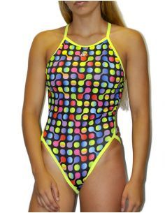 Woman Swimsuit DS SPINNER- Excellent chlorine resistance, thin strap.
