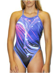 Woman Swimsuit DS BOREAL - Excellent chlorine resistance, thin strap.