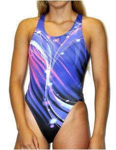 Woman Swimsuit DS BOREAL- Excellent chlorine resistance, wide strap.