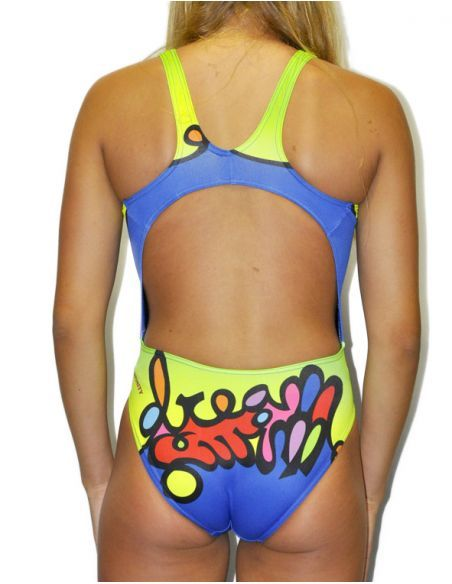 Woman Swimsuit DS DREAM - Excellent chlorine resistance, wide strap.