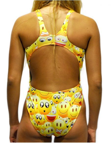 Woman Swimsuit DS ICONS- Excellent chlorine resistance, wide strap.