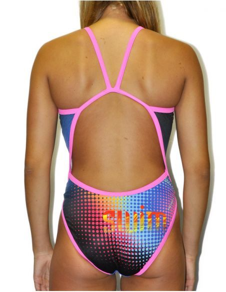 Woman Swimsuit DS POINTS- Excellent chlorine resistance, thin strap.