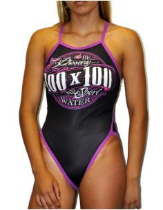 Woman Swimsuit DS 100x100- Excellent chlorine resistance, thin strap.