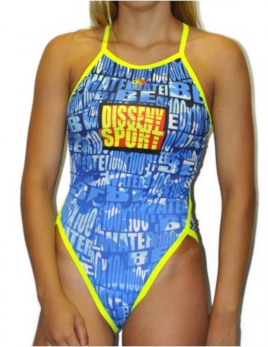 Woman Swimsuit DS WATER- Excellent chlorine resistance, thin strap.