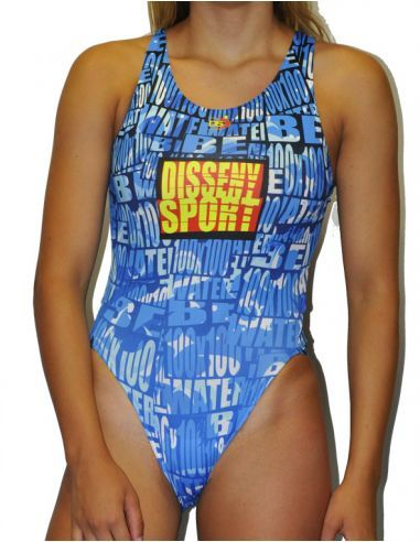 Woman Swimsuit DS WATER- Excellent chlorine resistance, wide strap.