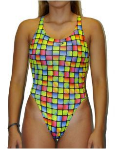 Woman Swimsuit DS GRESITE - Excellent chlorine resistance, wide strap