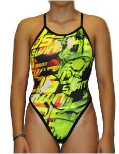 Woman Swimsuit DS 2.1- Excellent chlorine resistance, thin strap.