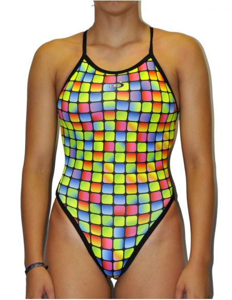 DS GRESITE WOMAN SWIMSUIT THIN STRAP