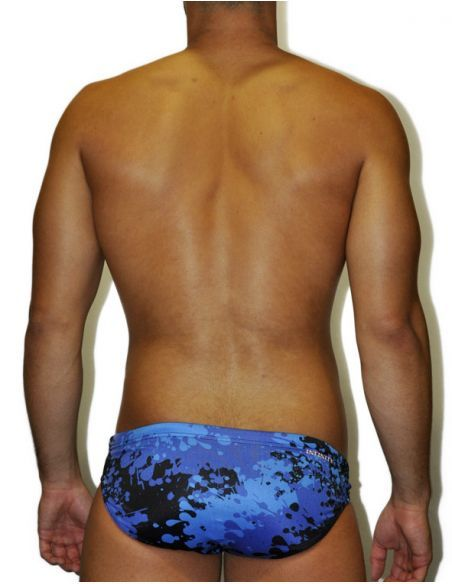 MEN'S WATERPOLO DS SWIMSUIT PACIFIC