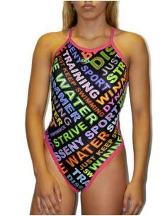 DS BE WATER WOMAN SWIMSUIT THIN STRAP