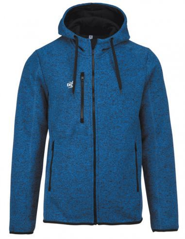 MAN'S HEATHER HOODED JACKET