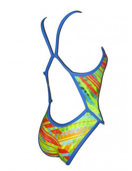 Woman Swimsuit DS BATTLE GEAR- Excellent chlorine resistance, thin strap.