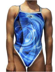 DS BLUE WOMAN SWIMSUIT THIN...
