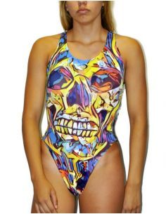 DS RƎVO⅃UTION SWIMSUIT WIDE STRAP