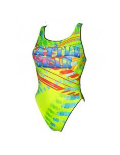 Woman Swimsuit DS BATTLE GEAR- Excellent chlorine resistance, wide strap.
