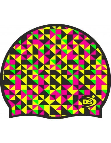 DS SWIMMING CAP TRIANGLES