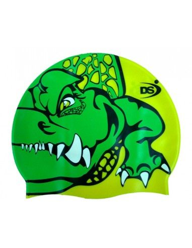 DS SWIMMING CAP CROCODILE