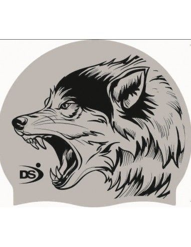 DS SWIMMING CAP WOLF