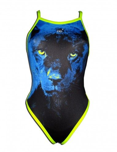 Woman Swimsuit DS PANTHER- Excellent chlorine resistance, thin strap.