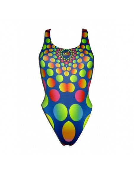 Woman Swimsuit DS RODONES- Excellent chlorine resistance, wide strap.